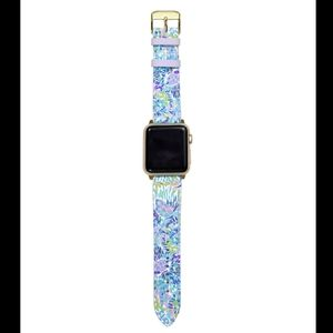 NWT Lilly Pulitzer Apple Watch Band Shell of Party